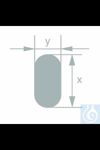 Barre plate en verre borosilicaté, Simax, L 16,0 ±0,5 x Ep. 7,1 ±0,5 mm, emballage 16,20 kg, 50...