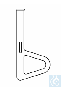 Apparatus for determination of the melting point acc. to Thiele, with side tube