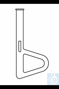 Appareil pour la détermination du point de fusion selon Thiele, avec tube latérale