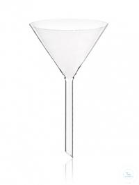 Funnel 80 mm short stem, borosilicate glass 3.3