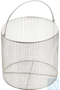 Wire basket with handle ø 25 cm, Stainless Steel 18/10 Wire basket for...