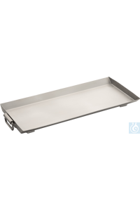 Drip tray Stainless steel drip tray to prevent chamber contamination by...