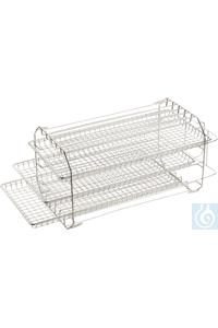 Tray Set with 3 trays Material: Stainless steel for CertoClav Vac Pro 45 Tray...