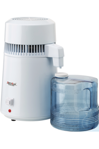 Water distiller distils fully automatic 1.5 liters of water within an hour...