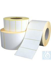 Direct thermal labels 10 rolls, removable for CertoClav Vac Pro 12-22 Direct...