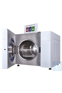 CertoClav Vac Pro 45 45 liters The compact stand-alone laboratory autoclaves...