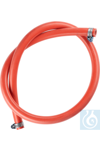 Exhaust hose  The exhaust hose is made of silicone and heat-resistant. It has...