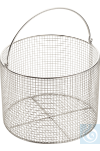 Wire basket with handle ø 23 cm, Stainless Steel 18/10 Wire basket for...