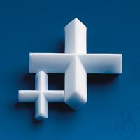 Magnetrührstäbchen, PTFE D. 30 mm, H. 12 mm, Kreuzform Magnetrührstäbchen, PTFE, Kreuzform, Ø 30...