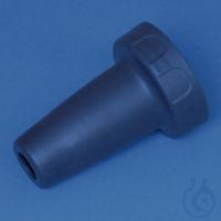 Adaptergehäuse PP macro-Pipettierh. II Gesamt-Länge 49 mm, königsblau