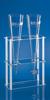 Gestell für 2 Sedimentiergefäße aus Kunststoff, 300 x 130 x 315 mm Gestell, für 2...