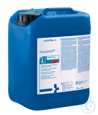 Mucasol - liquid cleaning concentrate 5 l-can (7 kg) Mucasol®, universal...