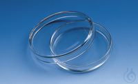 Petri dish, soda-lime glass lid dia. 40 mm, h. of dish 12 mm Petri dish, soda-lime glass, lid...