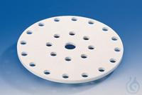 Desiccator plate, PP nom. size 200 mm, dia. 190 mm Dessicator/dessicator plate, PP, nominal size...
