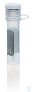 Microtube PP, attached screw cap PP 0,5 ml selfstanding non-sterile ungrad. Microtubes (PP) with...
