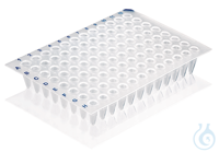 PCR plate, 96-well, non-skirted Standard, white, 50 pcs. 96-well PCR plate, non-skirted, standard...