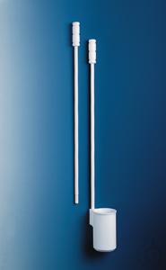 Probenschöpfer, mit Ausguss, PTFE 500 ml, D. 80 mm, H. 125 mm Probenschöpfer 500 ml, PTFE, mit...