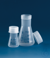 Erlenmeyer flask, WN, PP 50 ml, NS 34/35, with screw cap Erlenmeyer flask, wide neck, PP, 50 ml,...