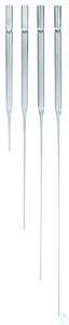 Pasteur pipette, soda-lime glass total l. approx. 145 mm cap.appr. 1,5 ml Pasteur pipette,...