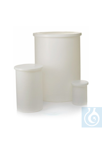 Nalgene™ Heavy-Duty Cylindrical LLDPE Tanks with Cover 150 gal., 568L Each Nalgene™...