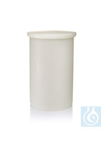 Nalgene™ Cylindrical Polypropylene Tank with Cover 55 gal., 208L Each Nalgene™...
