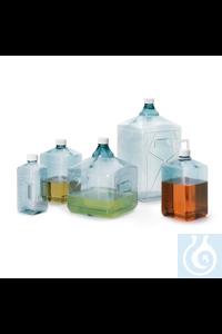 Nalgene™ InVitro™ Biotainer™ PETG-Flaschen 500mL Case of 70 Bottle, Square...