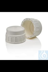 Nalgene™ Ersatzschraubverschlüsse und -dichtungen für Ballonflaschen Ersatzverschluss Case of 2...