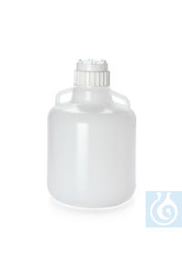 Nalgene™ Round LDPE Carboys Round LDPE Carboy w/handle 83B 10L Case of 6 Nalgene™...