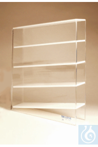 Nalgene™ Acrylic Pipet Box Holder Pipet Holder Angled 4-place 3-1/2 in. x 16-3/8 in. x...