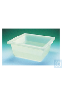 Nalgene™ HDPE Pans 21.375 x 17.125 x 5.125 in. (54 x 43 x 13cm) 20L Case of 6...