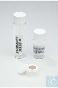 I-Chem™ Clear Clean Snap Vials with 0.125in. Septa Case of 72...