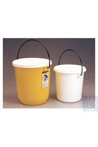 2Articles like: Nalgene™ LDPE Buckets with Lids 7.6L 26.7cm Case of 12 Nalgene™...