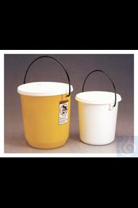 Nalgene™ Luftdichte Eimer aus LDPE 13.2L Case of 6 32.8cm Nalgene™ Luftdichte Eimer...