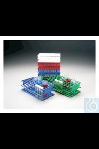 Nalgene™ Unwire™ Polypropylene Test Tube Racks 6 x 12 13mm Tubes Blue Case of 8...