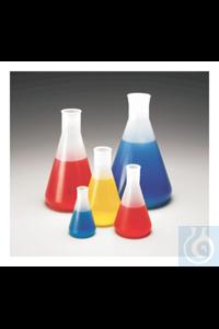 Nalgene™ Polypropylene Copolymer Erlenmeyer Flasks 3 125mL Case of 24 Nalgene™...