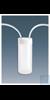 Nalgene™ Verschlüsse mit Schlauchanschluss; weißes PP 6/Cs . Case of 6...