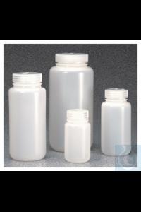Nalgene™ IP2-Weithalsflaschen aus HDPE 125ml Case of 72 38–415mm Nalgene™...