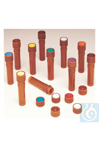 Nalgene™ PPCO Amber Micro Packaging Vials: Sterile, Bulk Pack 11mm 2 mL Case of 1000...