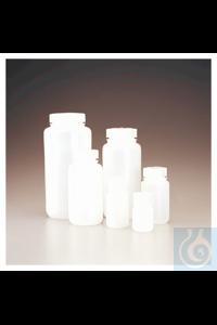 Nalgene™ HDPE-Weithalsflaschen in Laborqualität 30ml Case of 72 28mm Nalgene™...
