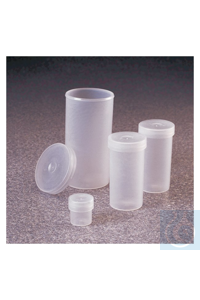 Nalgene™ LDPE Sample Vials with Closure 84.6mm 27.1 mm 28 mL Case of 144 Nalgene™...