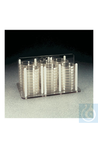 Nalgene™ Petri and Bioassay Dish Racks 3.93 in. (100mm) dish Yes Petri Dishes Case of 2...