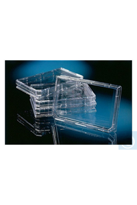Nunc™ OmniTray™ Case of 90 Nunc™ OmniTray™ Made from clear polystyrene...