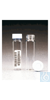 Clear VOA Glass Vials with 0.060in. Septa I-Chem 40mL Vial clear 0.060 in....