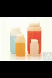 Nalgene™ fluorierte HDPE-Weithalsflaschen mit Verschluss 125ml Case of 72 38mm Nalgene™...