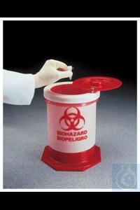 Nalgene™ Behälter für biologisch gefährlichen Abfall 57l Each 34cm 74cm Nalgene™ Behälter für...