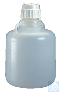 Nalgene™ Polypropylene Heavy-Duty Vacuum Carboys 83B 10L Case of 6 Nalgene™...
