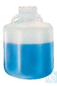3artículos como: Nalgene™ Wide-Mouth LDPE Carboys with Handles 100-415mm 10L Case of 6...