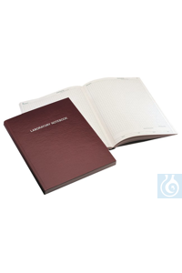 Nalgene™ Deluxe Laboratory Notebook 8.5 x 11 in. acid-free paper pages...