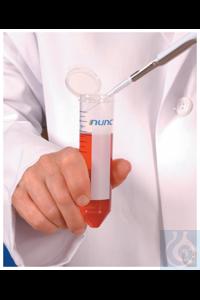 4Panašios prekės Nunc™ EZFlip™ Conical Centrifuge Tubes 15mL Bulk Case of 500...