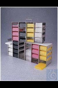 Nalgene™ Storage Racks for Microplates, 4x4 Microplates Each Nalgene™ Storage Racks...